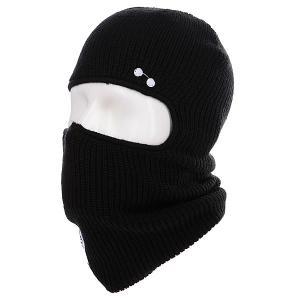 Балаклава  Facemask True Black Ashbury. Цвет: черный