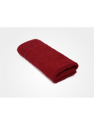 Полотенце махровое PROFFI HOME Модерн, 50х100см, красный. Цвет: красный