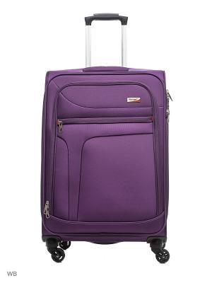 Чемодан Verage. Цвет: фиолетовый