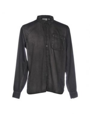Джинсовая рубашка CHEAP MONDAY. Цвет: черный