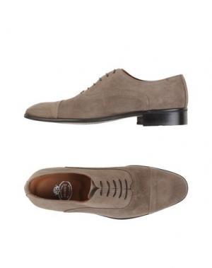 Обувь на шнурках BRAWN'S. Цвет: серый