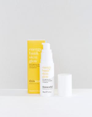 This works Средство для ухода за кожей Energy Bank Skin Glow, 30 мл. Цвет: бесцветный
