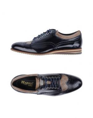 Обувь на шнурках HARRIS. Цвет: темно-синий