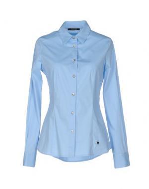 Pубашка TRY ME. Цвет: небесно-голубой