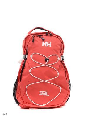 Рюкзак DUBLIN BACKPACK Helly Hansen. Цвет: красный, белый