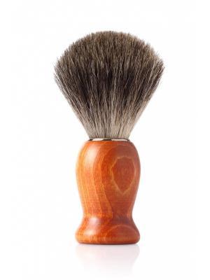 Помазок для бритья MONDIAL. Цвет: светло-коричневый