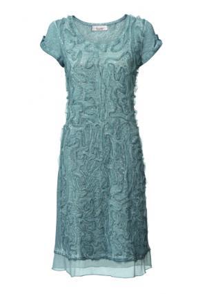 Платье Linea Tesini. Цвет: мятный