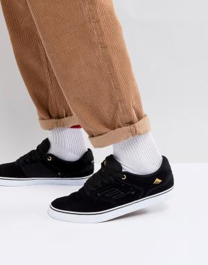 Emerica Черные кроссовки с вулканизированной подошвой Reynolds. Цвет: черный
