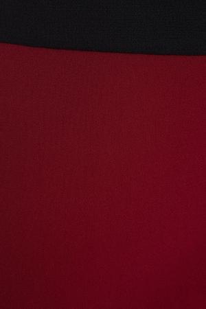 Шерстяная юбка Fausto Puglisi. Цвет: бордовый, черный