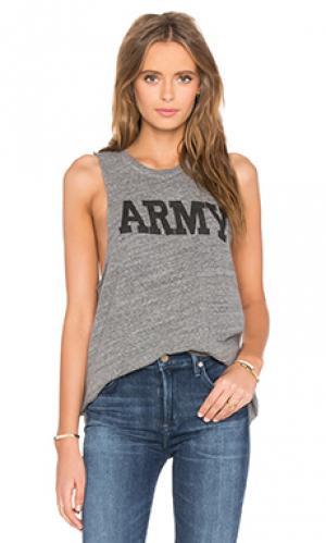 Майка army NLST. Цвет: серый