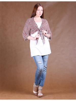 Комплект одежды Yuliya Shehodanova. Цвет: белый, черный, красный