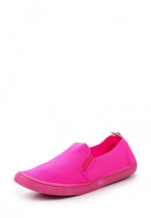 Слипоны Der Spur. Цвет: розовый