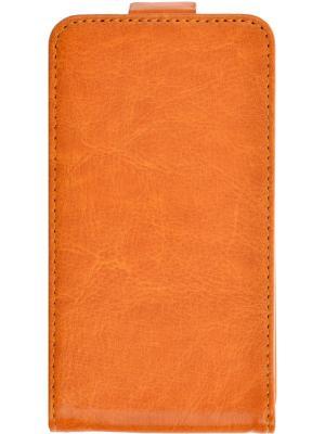 Flip case Nokia Lumia 530 skinBOX. Цвет: оранжевый