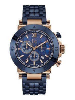 Часы GC. Цвет: синий, золотистый, красный