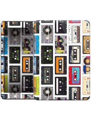 Наклейка на iPad Air Cassettes Upper Playground Gelaskins. Цвет: белый, черный, красный, оранжевый