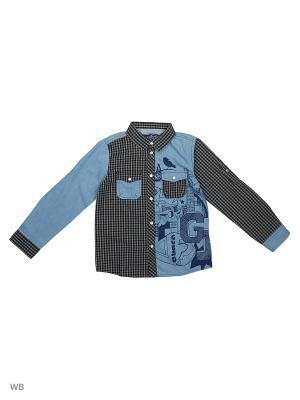 Рубашка GUESS. Цвет: черный