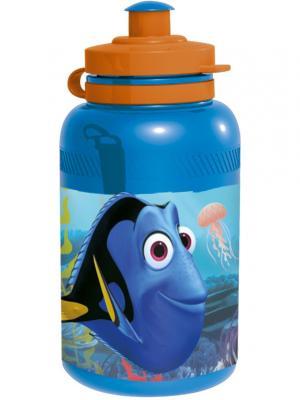 Бутылка пластиковая (спортивная, 400 мл). В поисках Дори Stor. Цвет: голубой