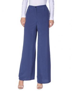 Повседневные брюки PUROTATTO. Цвет: грифельно-синий