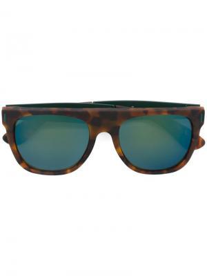 Солнцезащитные очки Francis Retrosuperfuture. Цвет: коричневый