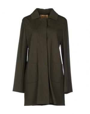 Легкое пальто ALVIERO MARTINI 1a CLASSE. Цвет: зеленый-милитари