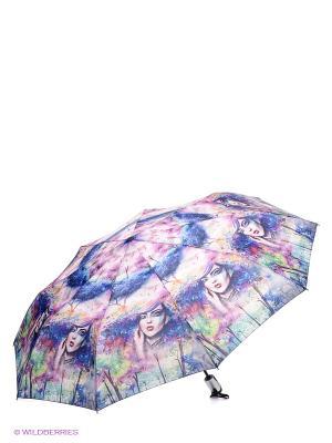 Зонт RAINDROPS. Цвет: синий