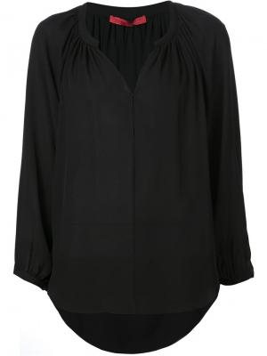 Блузка свободного кроя Tamara Mellon. Цвет: чёрный