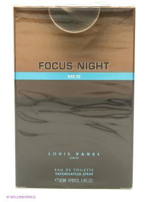 Туалетная вода FOCUS NIGHT EDT MEN LOUIS VAREL. Цвет: бронзовый