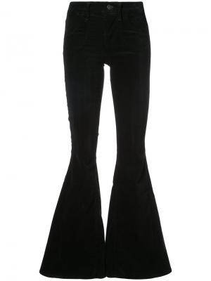 Расклешенные брюки Citizens Of Humanity. Цвет: чёрный