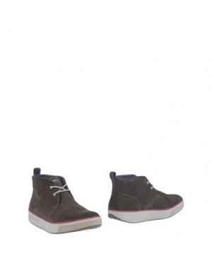 Полусапоги и высокие ботинки MBT. Цвет: темно-коричневый