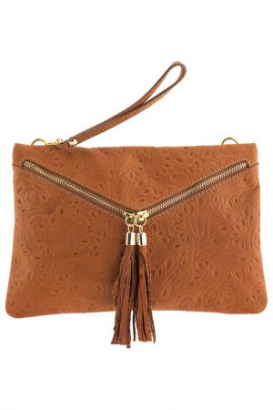 Сумка Pitti bags. Цвет: оранжевый