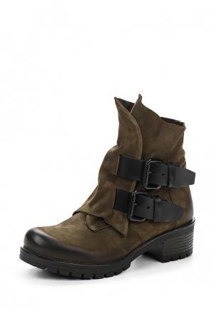Ботинки Tervolina. Цвет: хаки