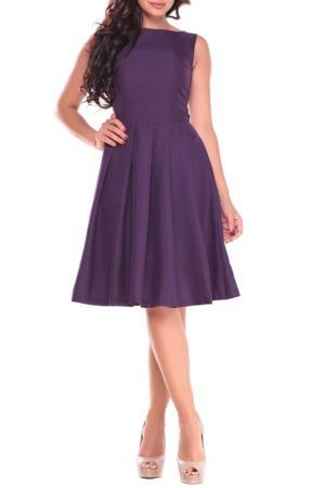 Платье Dioni. Цвет: темно-фиолетовый
