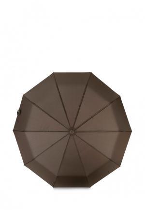 Зонт складной Baudet. Цвет: коричневый