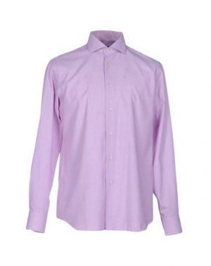 Pубашка ZANETTI. Цвет: пурпурный