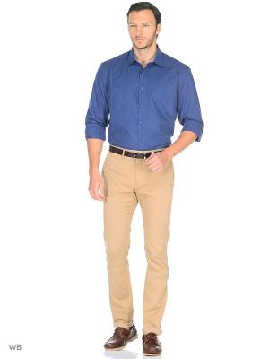 Рубашка Fayzoff-SA. Цвет: темно-синий