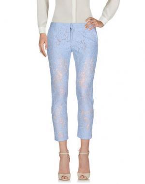 Повседневные брюки AINEA. Цвет: лазурный