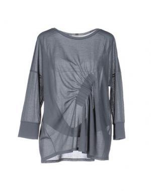 Блузка BARBON. Цвет: серый