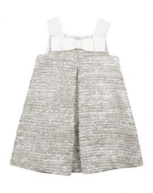 Платье MIMISOL. Цвет: платиновый