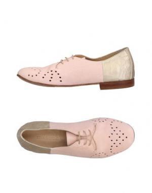 Обувь на шнурках KUDETÀ. Цвет: розовый