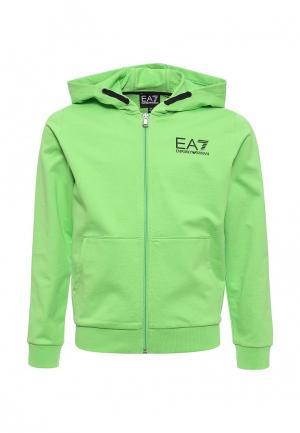 Толстовка EA7. Цвет: зеленый