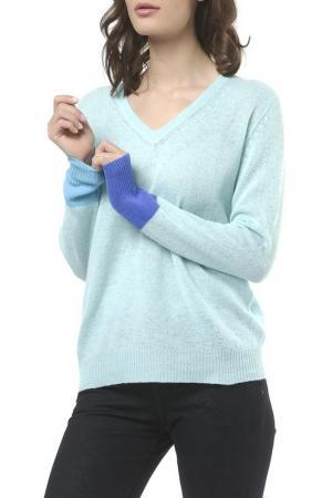 Пуловер Scott & London Cashmere. Цвет: mint