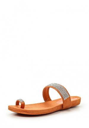 Шлепанцы PrimaDonna. Цвет: оранжевый