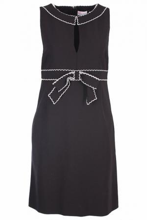 Платье Valentino Red. Цвет: черный