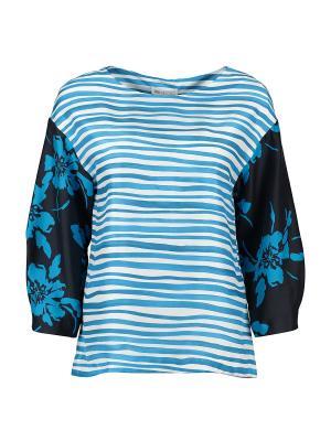 Блузка St.Emile. Цвет: голубой