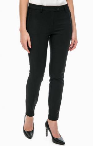 Базовые черные брюки MORE &. Цвет: черный