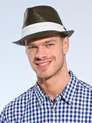 Шляпа Goorin Brothers. Цвет: коричневый, белый