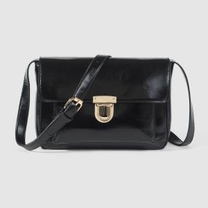 Сумка-портфель MADEMOISELLE R. Цвет: черный,шафран