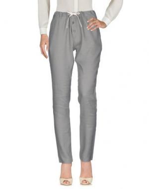 Повседневные брюки TRUE TRADITION. Цвет: серый
