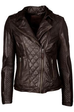 Куртка Mustang. Цвет: коричневый