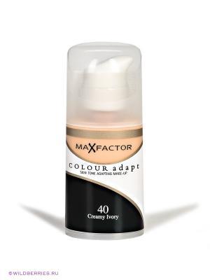 Тональный крем Colour Adapt №40 MAX FACTOR. Цвет: светло-бежевый
